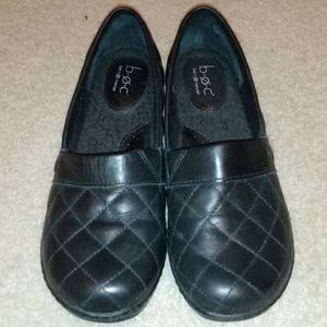B.O.C. Quilted Black Women's Flats Size 6.5